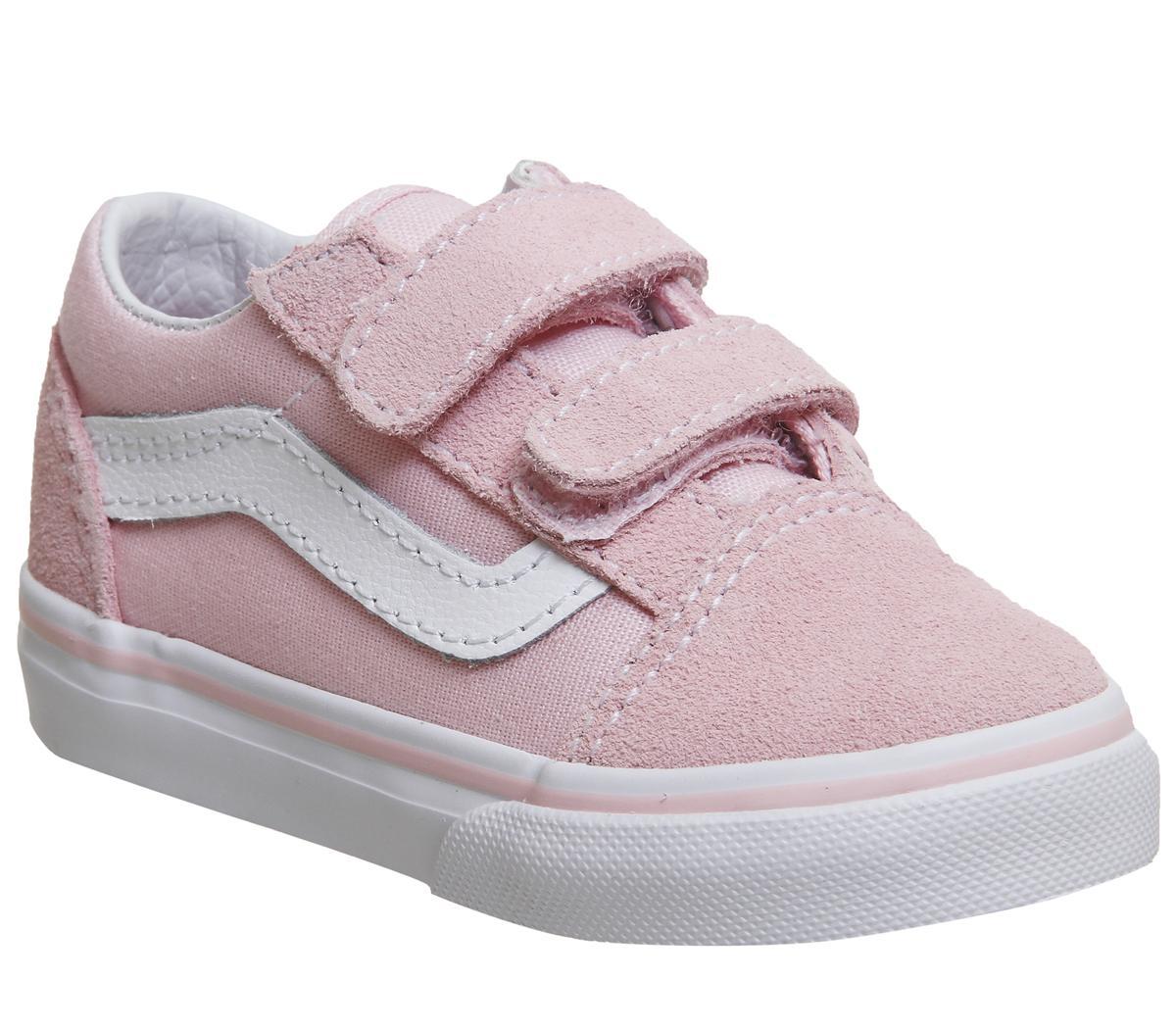 Vans Old Skool Velcro (t) Chalk Pink