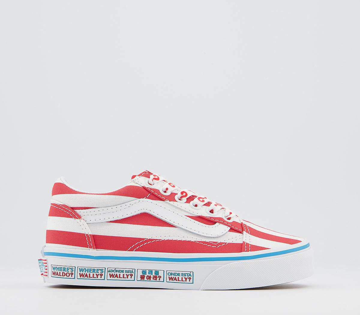 Old Skool Lace Kids Trainers