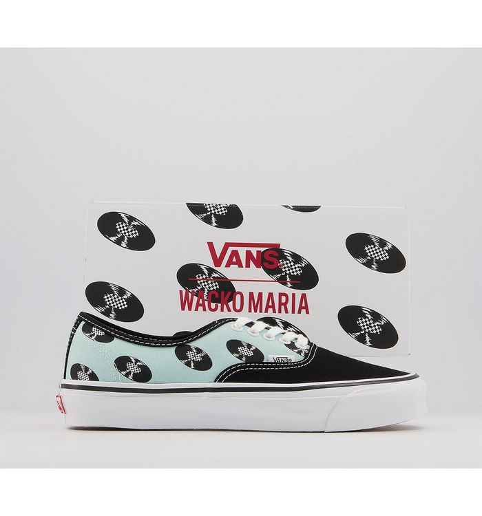 Vans Vault Og Authentic Lx Trainers WACKO MARIA BABY BLUE RECORDS,Black,Blue,White,Pink,Red,Yellow,Multi