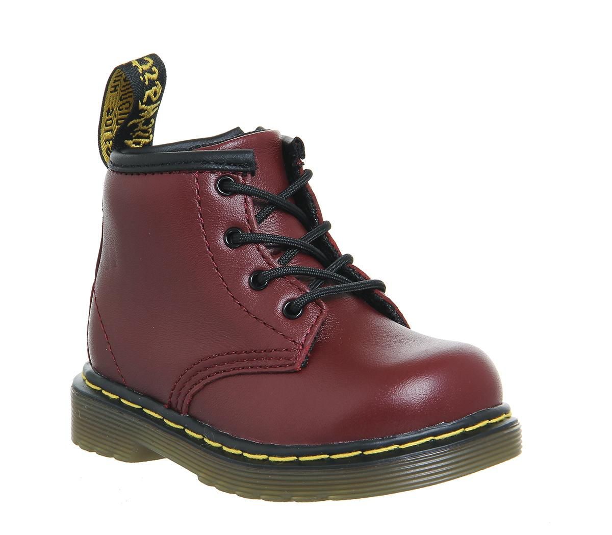 Kids Lace Up Boots Inside Zip Brooklee
