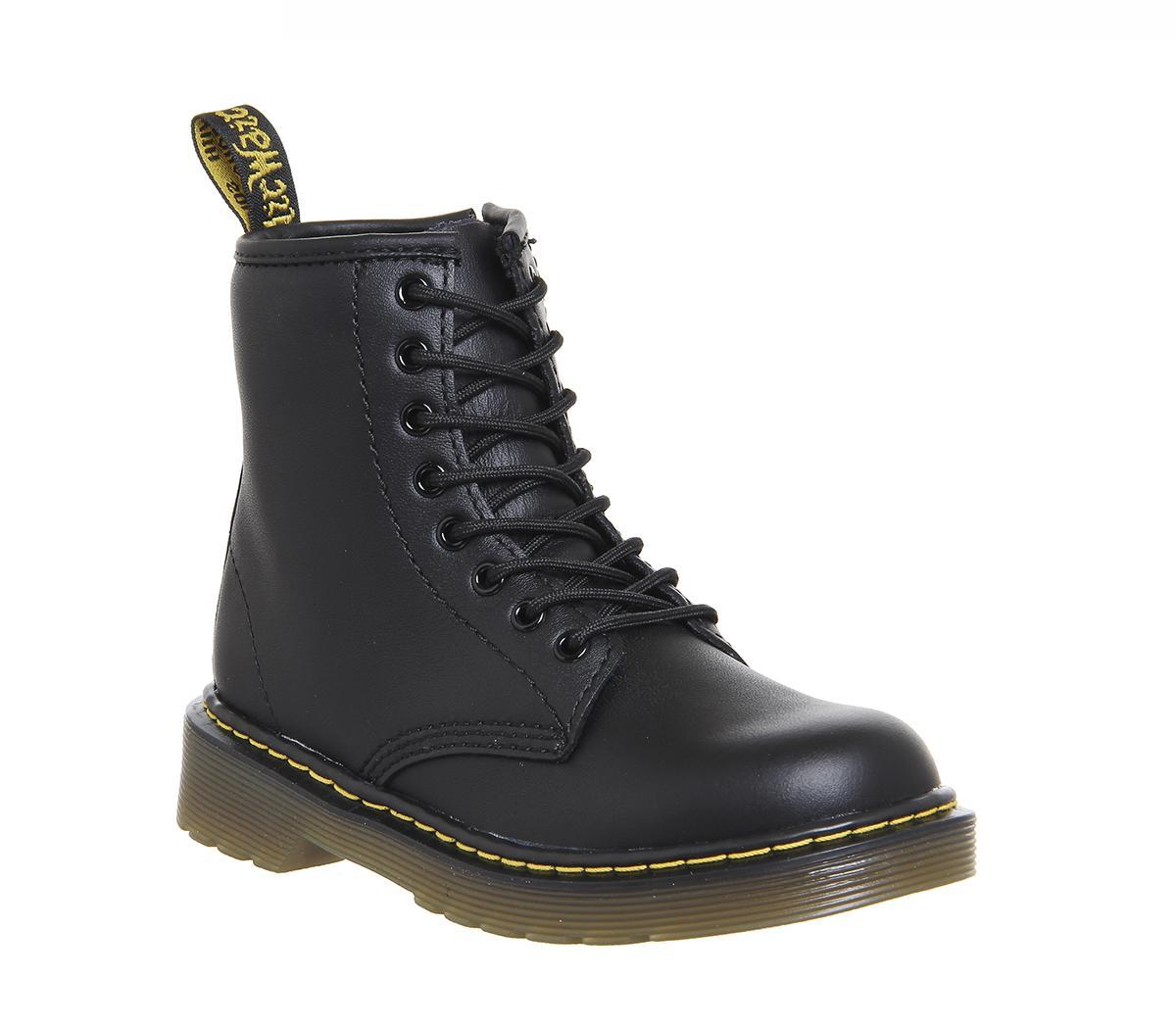 Delaney Junior Lace Up Inside Zip Boots
