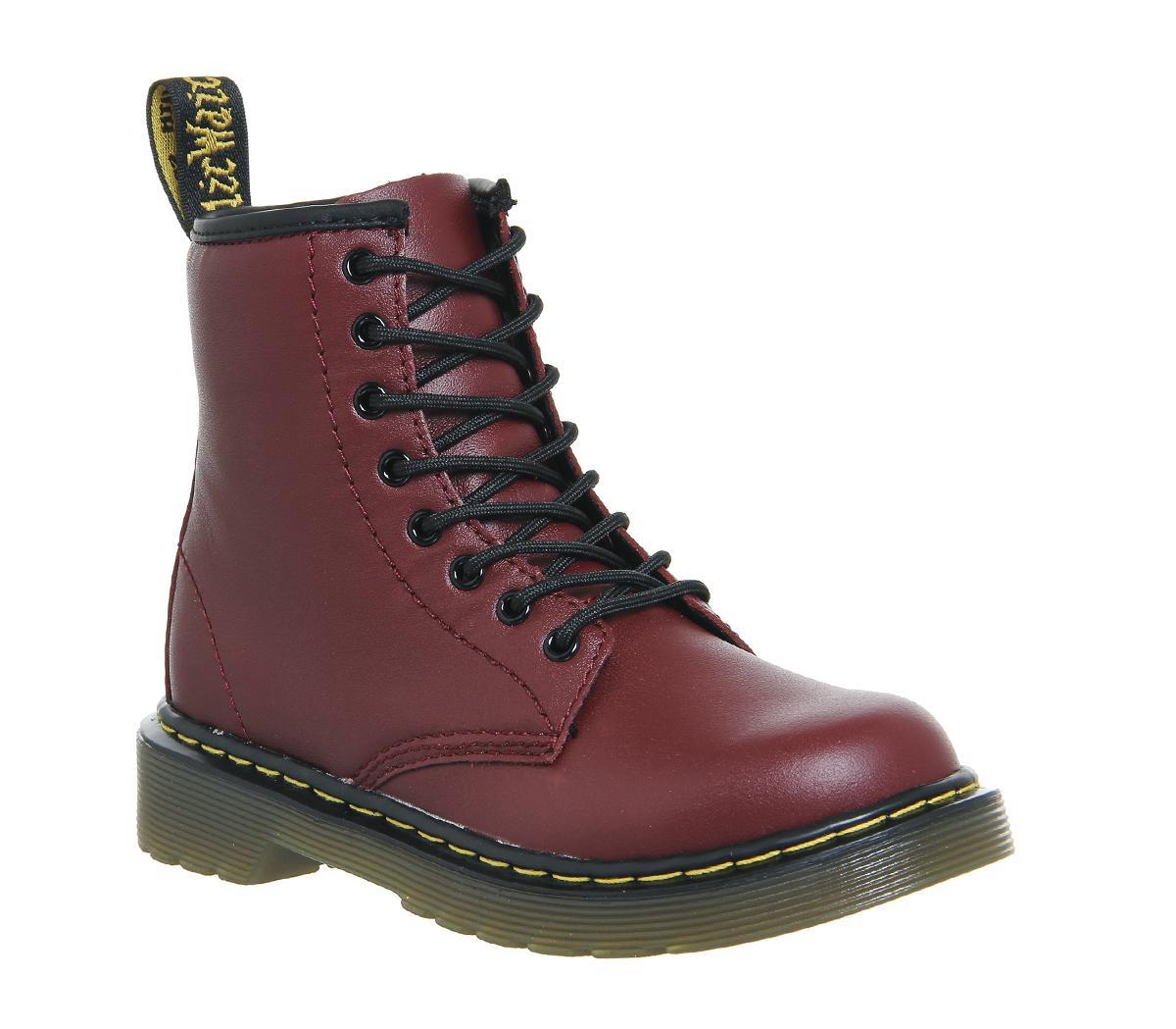 Junior Lace Up Boots Inside Zip Delaney