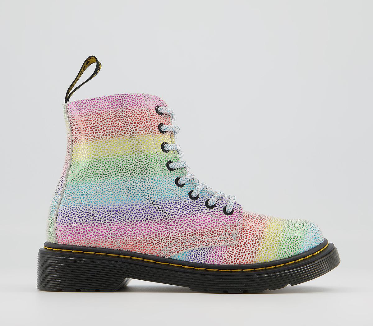 Delaney Junior Inside Zip Lace Boots