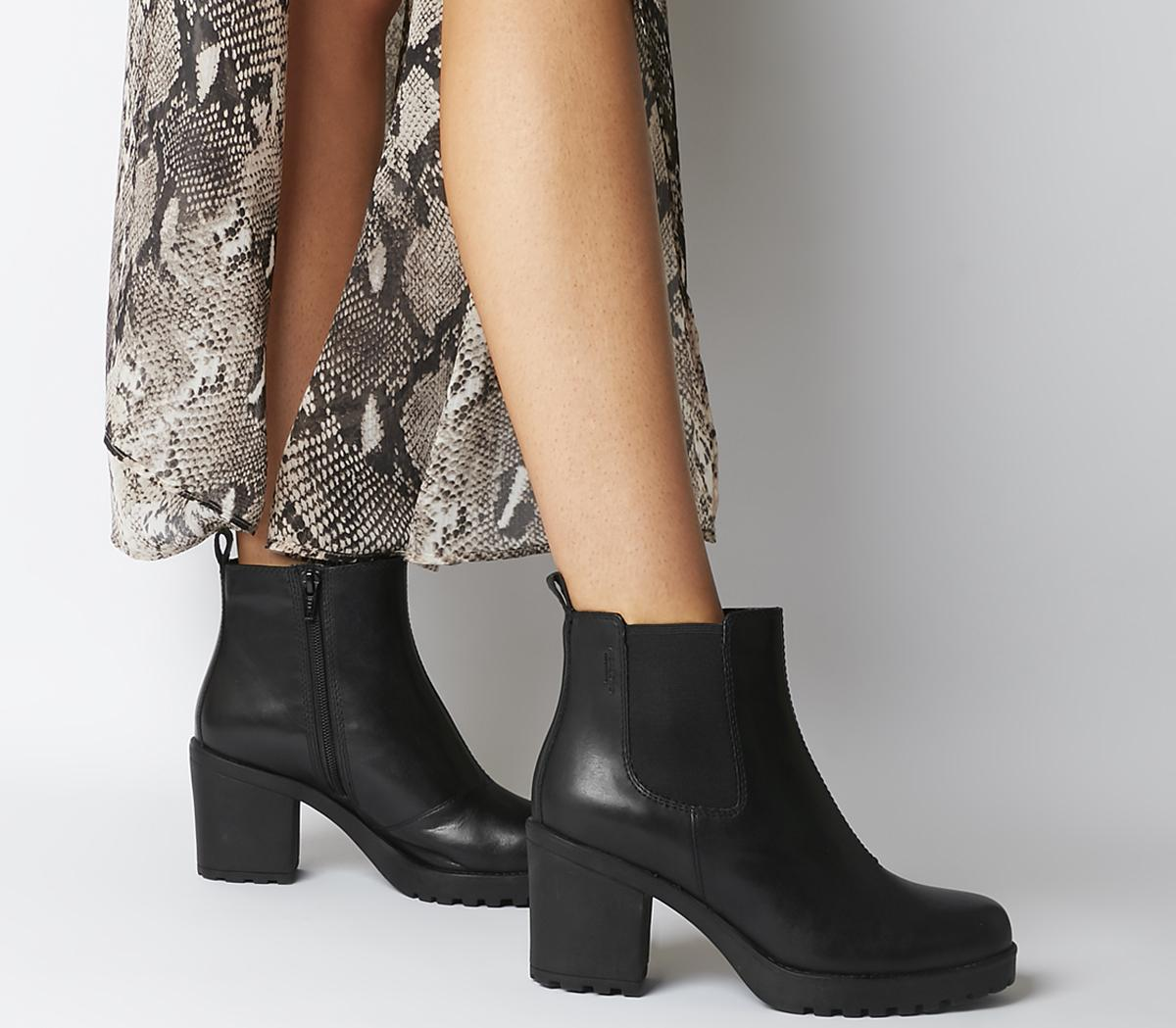 Grace Heeled Chelsea Boots