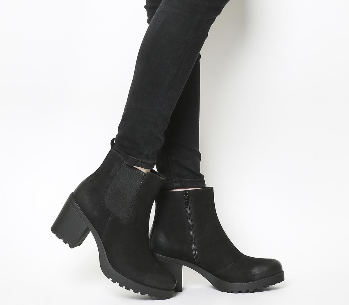 Grace Heeled Chelsea Boots