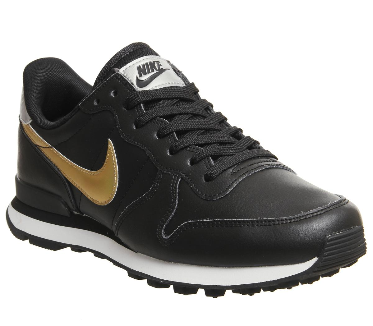 Nike Internationalist Schwarz in Damen Turnschuhe