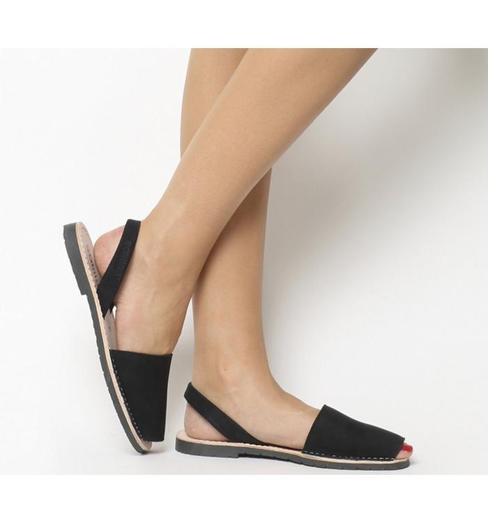 Solillas Solillas Sandals BLACK LEATHER