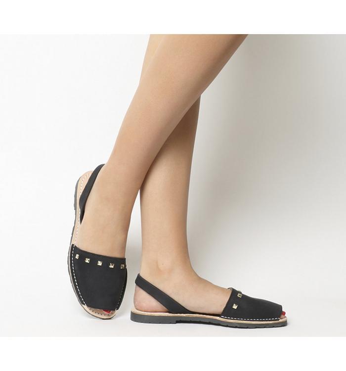 Solillas Solillas Sandal BLACK STUDS