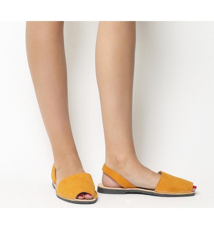 Solillas Solillas Sandal MUSTARD