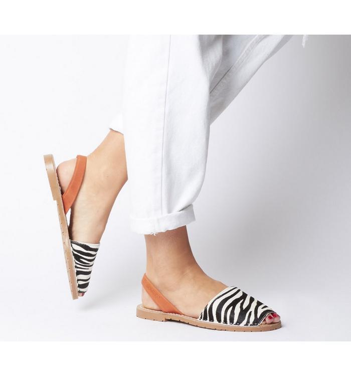 Solillas Solillas Sandal ZEBRA TAN BACK