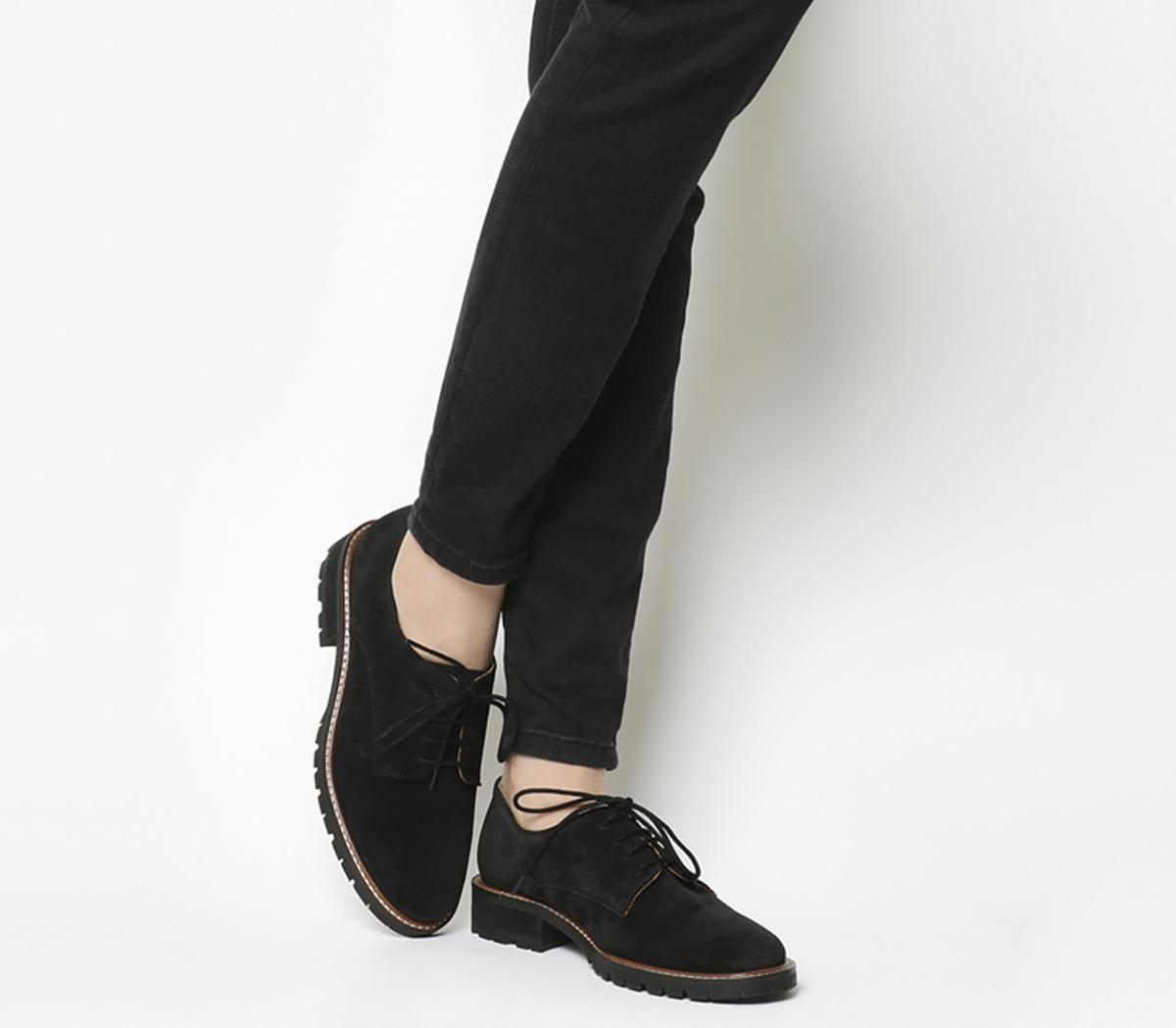 Office Kennedy Lace up Shoes Black