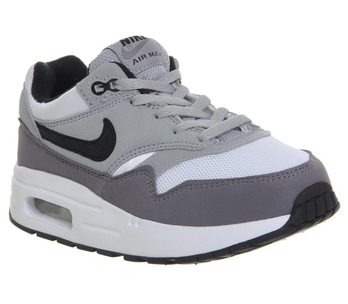 Nike Air Max 1 Ps White Black Wolf Grey