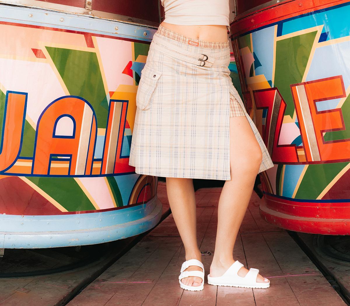 en ny chans Nya produkter rabatt butik Birkenstock Arizona Two Strap Sandals White Eva - Sandals