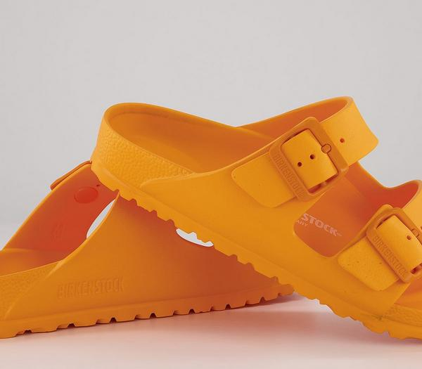 Birkenstock Arizona Two Strap Sandals Zinnia Yellow Eva - Sandals xiJGHDa