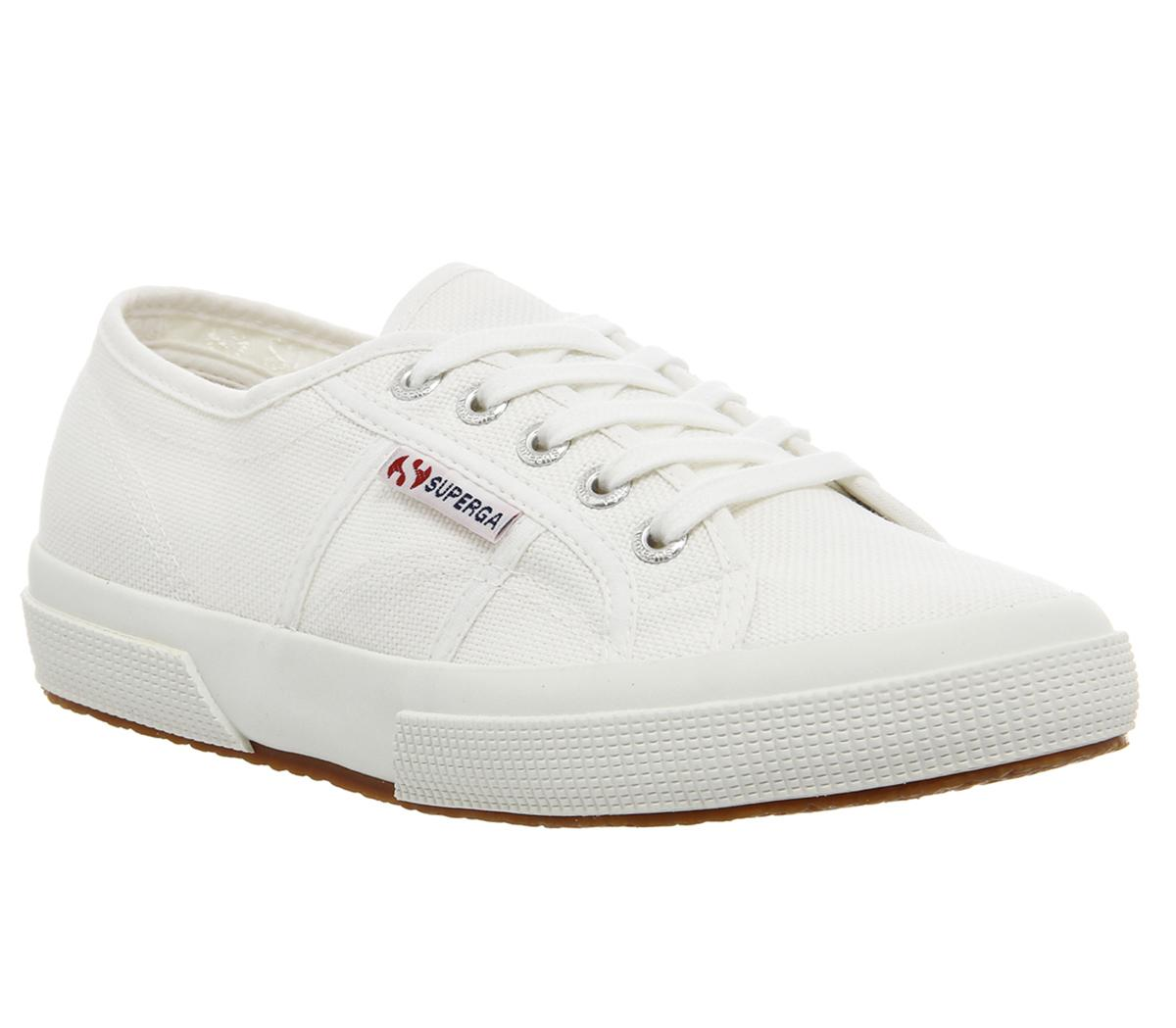 Superga 2750 Trainers White - Office Girl