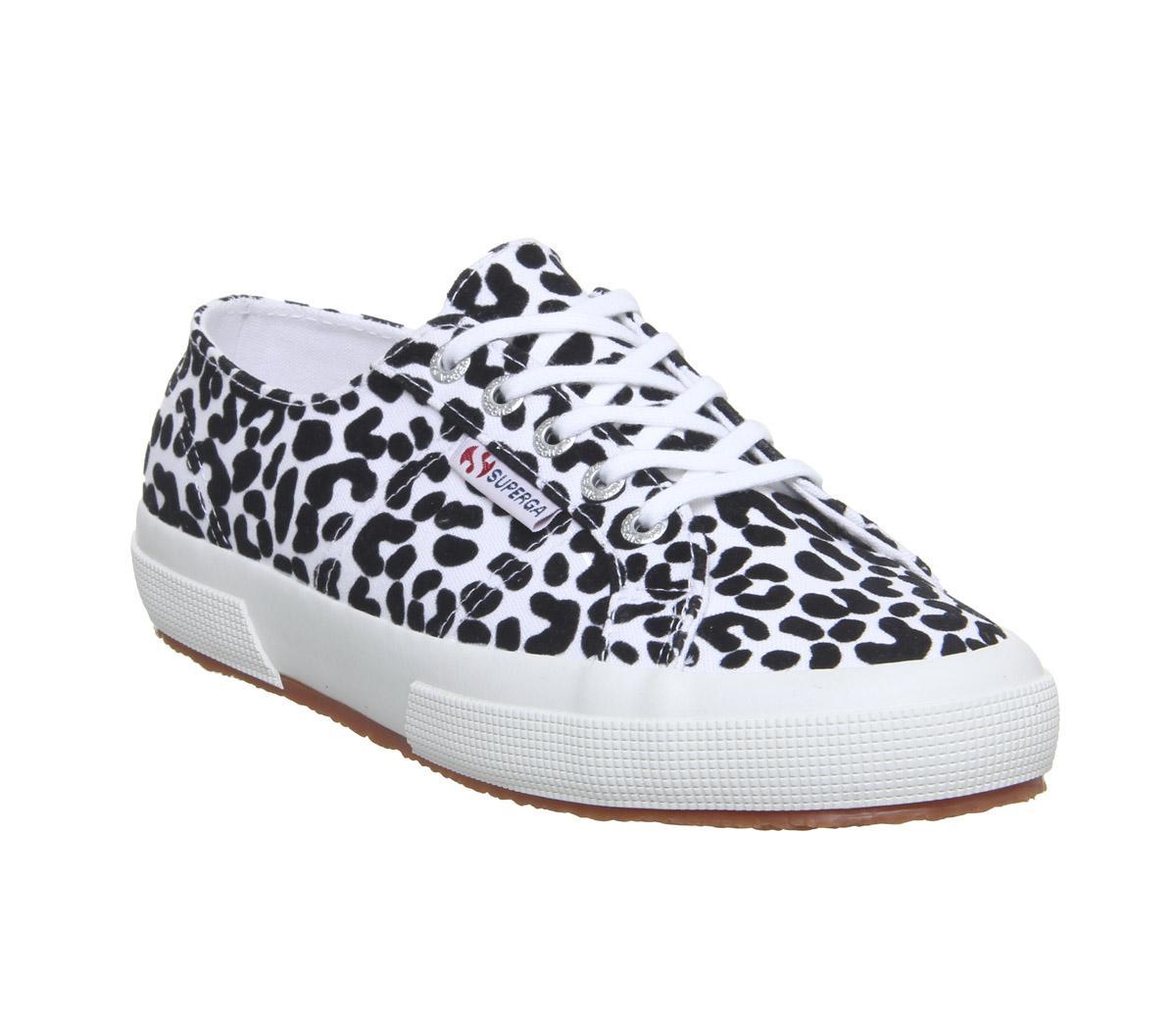 Superga 2750 White Leopard Exclusive