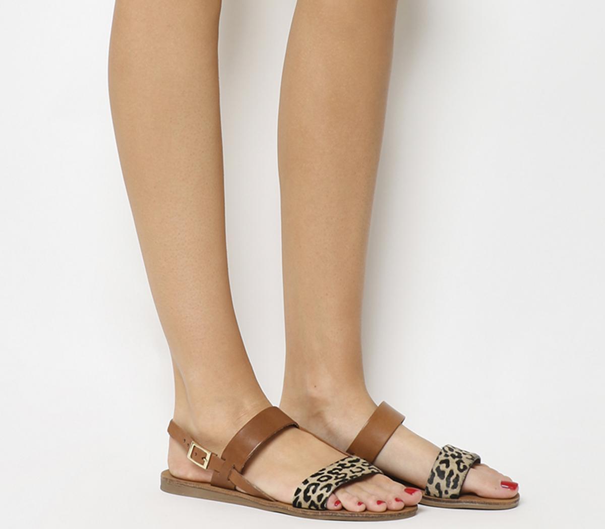 Honey Slingback Sandals