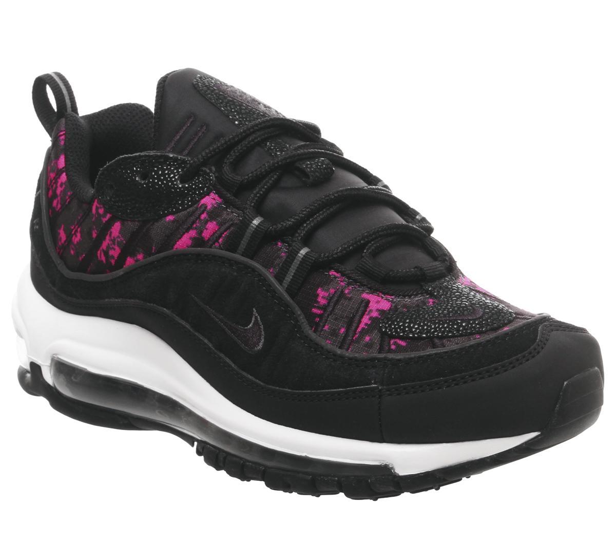 Nike Air Max 98 Trainers Black Black