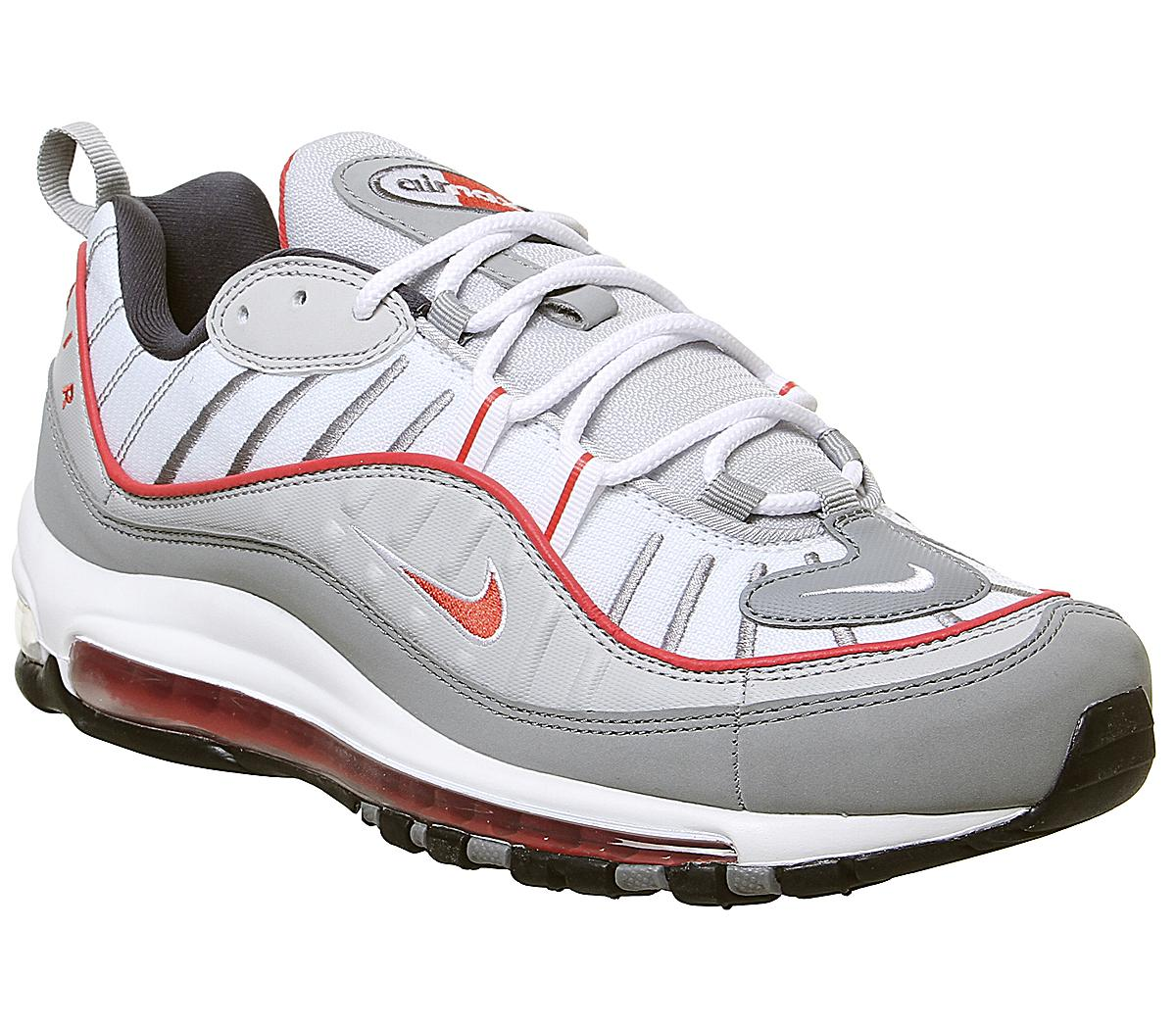Nike Air Max 98 Trainers Particle Grey