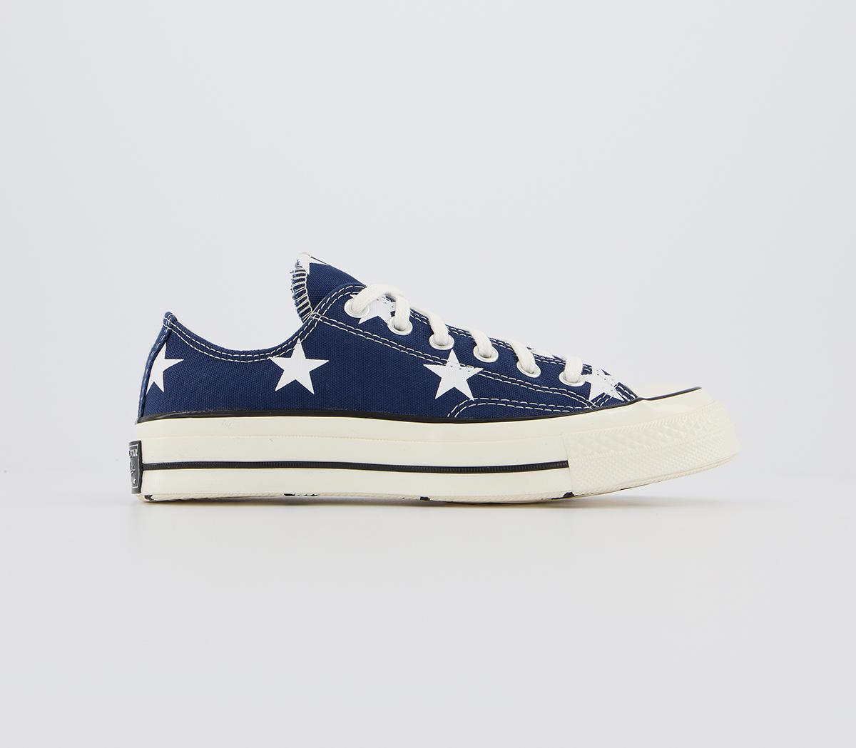 Converse All Star Ox 70s Trainers Navy