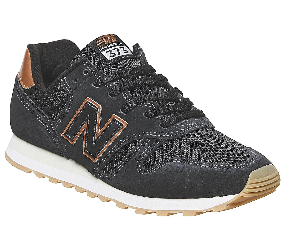 instalaciones Talentoso Monarca  New Balance W373 Trainers Black Rose Gold - Hers trainers