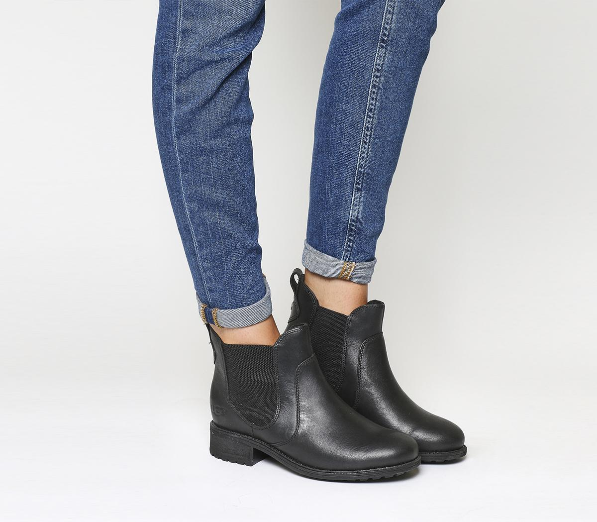 UGG Bonham Chelsea Boots Black - Ankle
