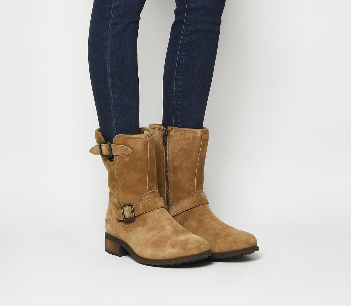 Chaney Buckle Boots