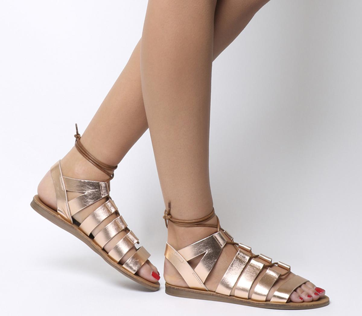 Odessa Lace Front Sandal