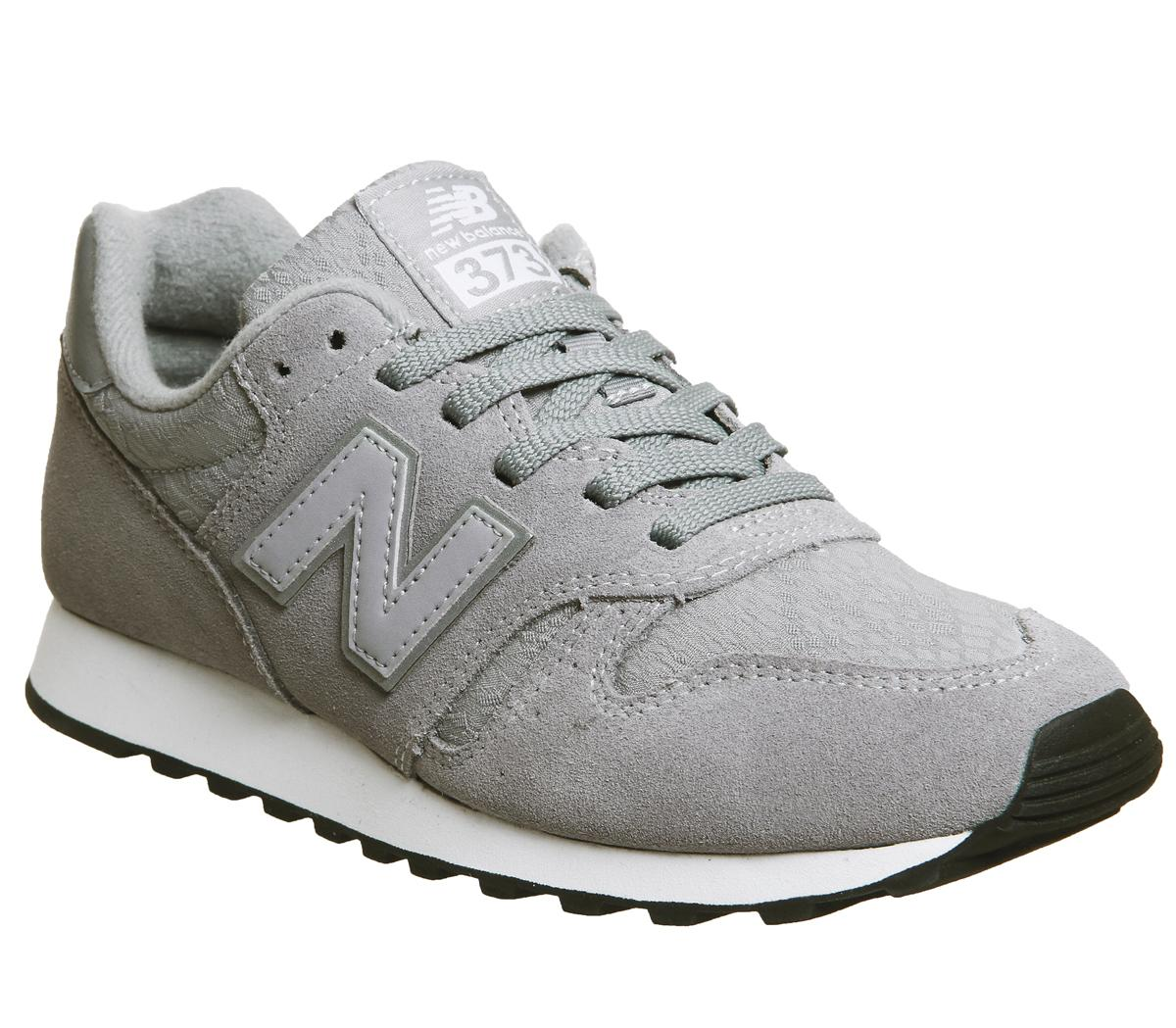 New Balance 373 Trainers Grey Lace