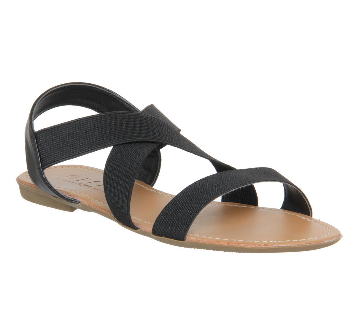 Orbit Elastic Strap Sandals
