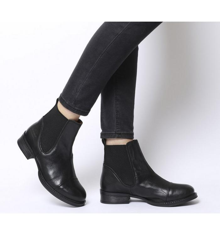 Ten Points Ten Points Pandora Chelsea Boot BLACK LEATHER