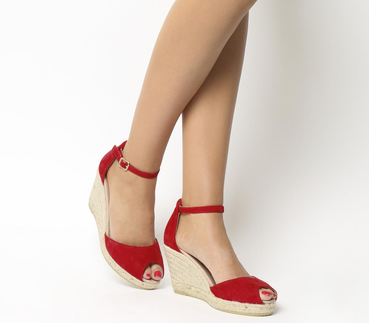 Gaimo for OFFICE Susan Wedge Espadrille