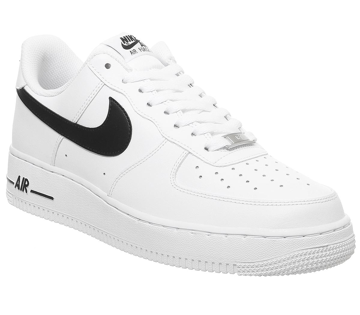 asistente Mal funcionamiento postura  Nike Nike Air Force One Trainers White Black - His trainers