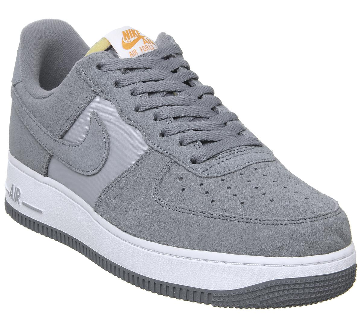 nike air force one wildleder