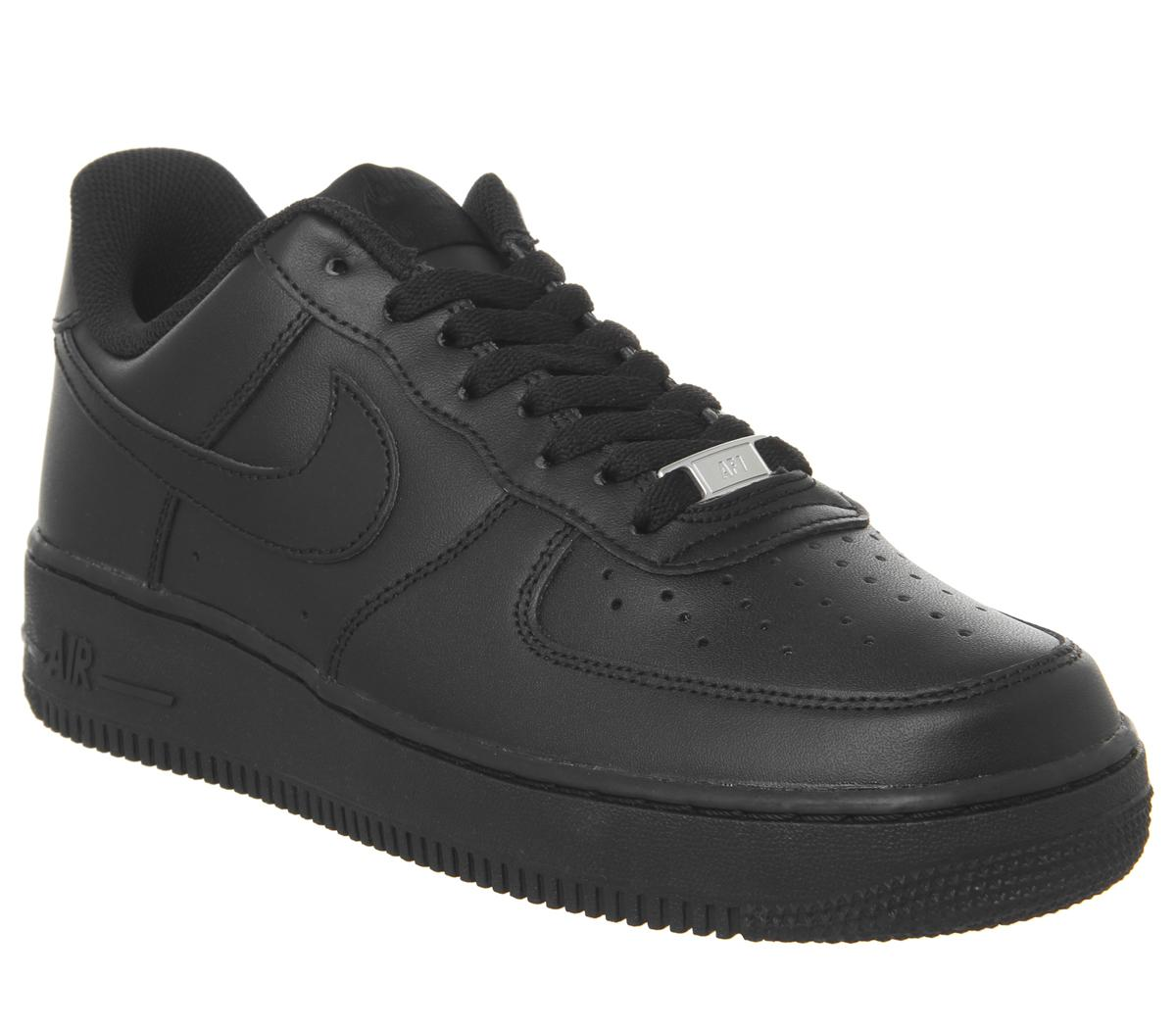 nike aire force 1 nere