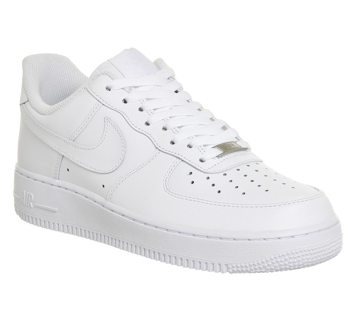 valor por dinero incomparable 100% autenticado Nike Air Force 1 Trainers White - His trainers