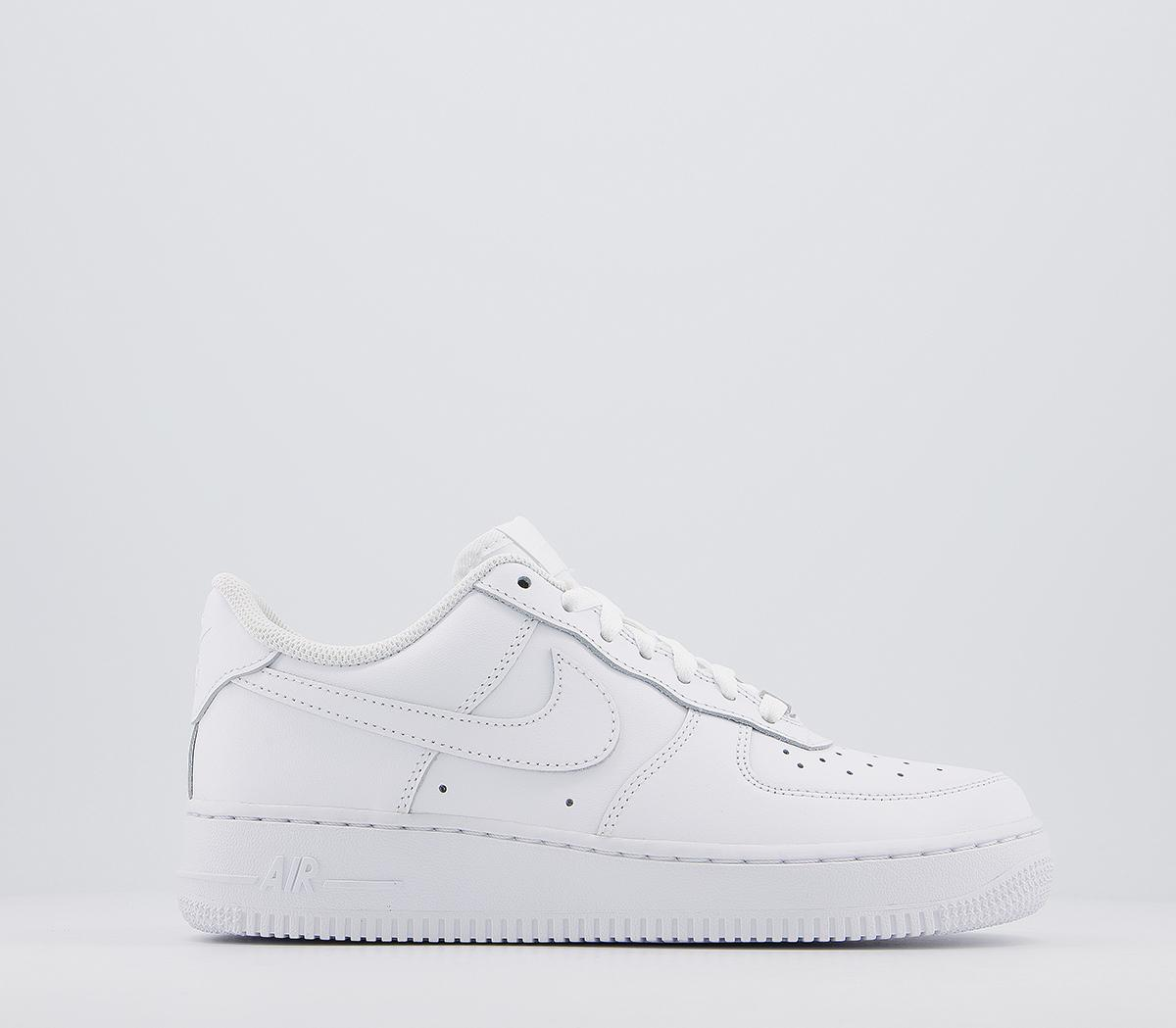 white air force junior size 6