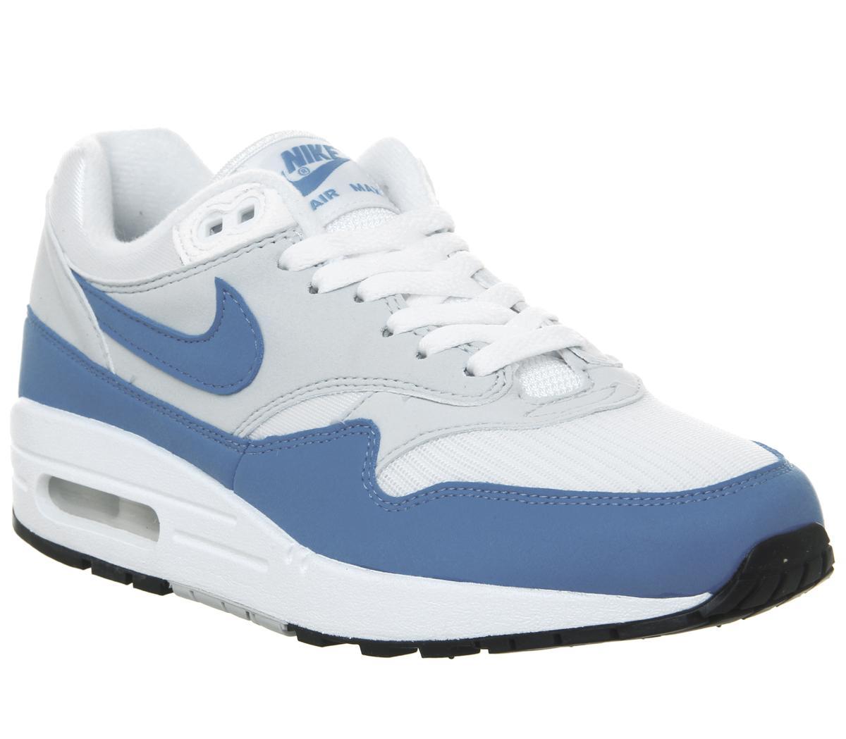 Nike Air Max 1 Trainers White