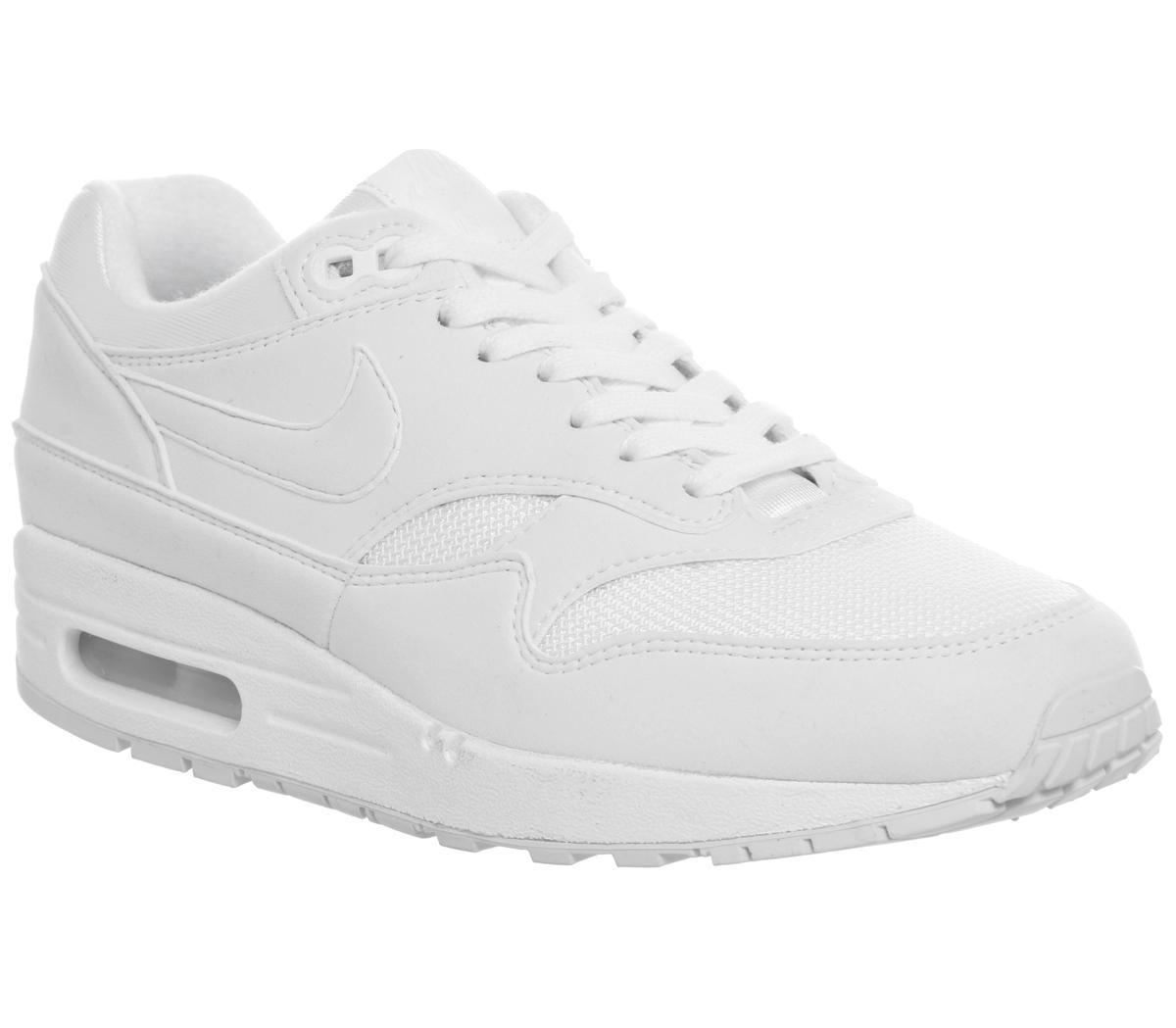 Nike Air Max 1 White White Pure