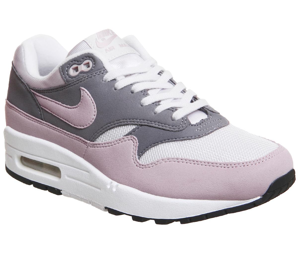 Nike Air Max 1 Trainers Vast Grey