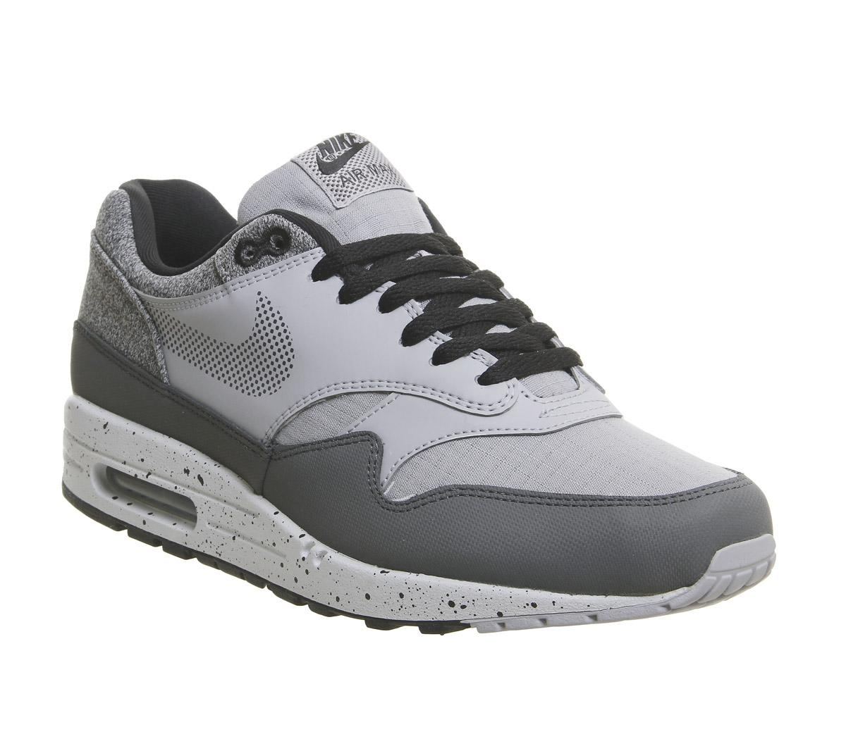Nike Air Max 1 Trainers Wolf Grey
