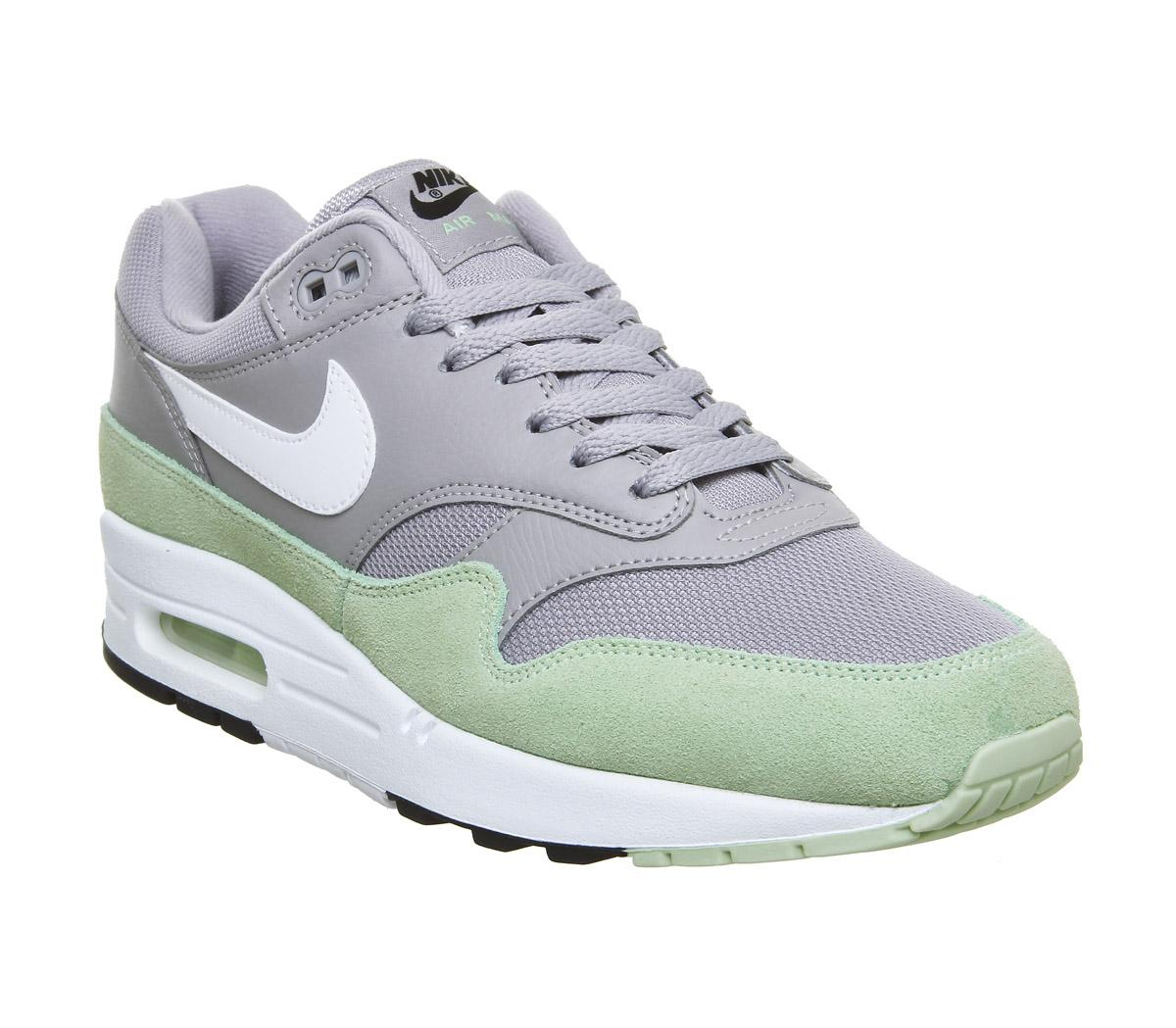 Nike Air Max 1 Grey, White, Mint & Black | END.