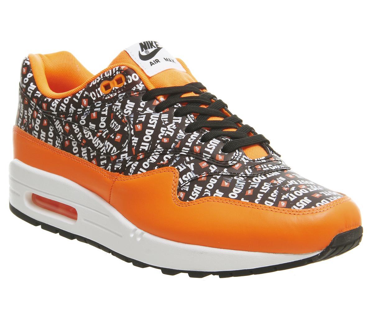 Nike Air Max 1 Trainers Total Orange