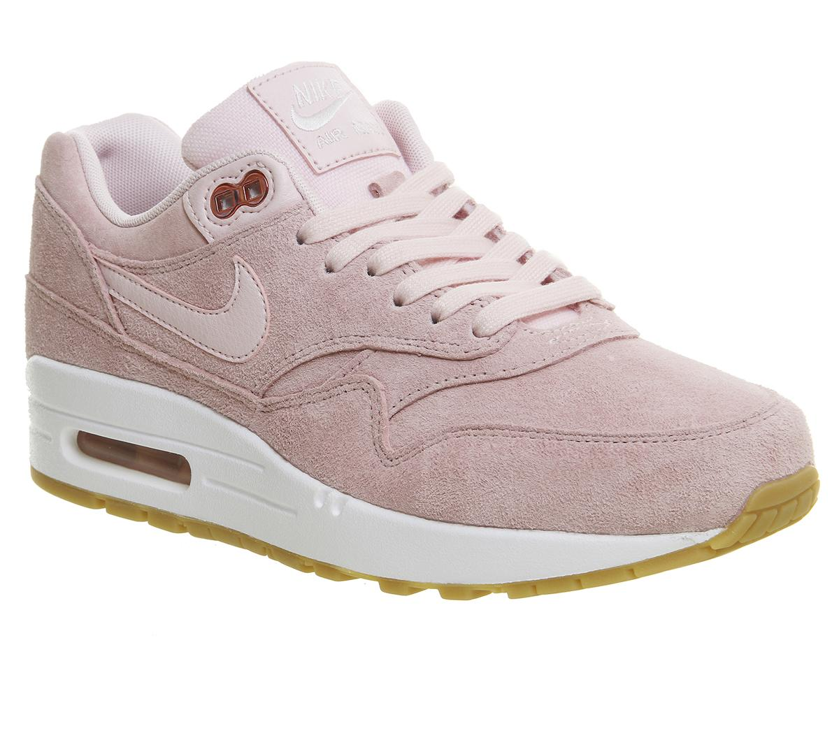 pink nike air max trainers