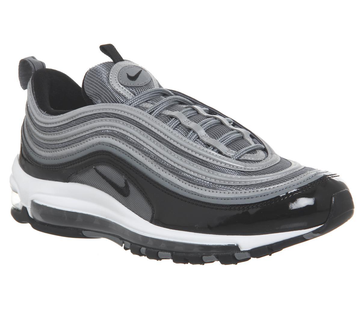 Avanzar Apto Sucio  black and grey 97 Cheap Nike Air Max Shoes