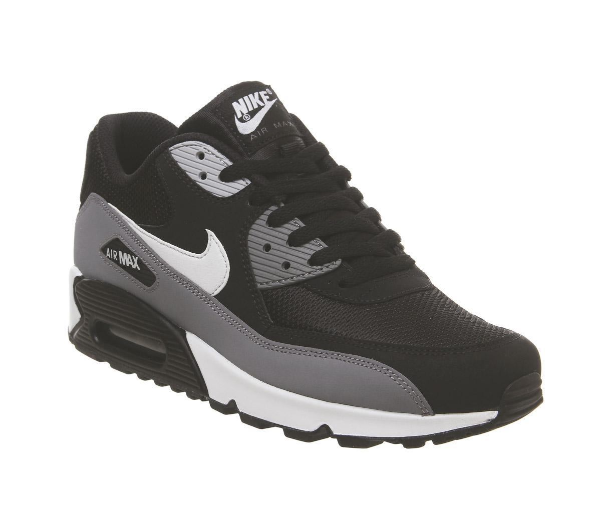 Nike Air Max 90 Trainers Black White