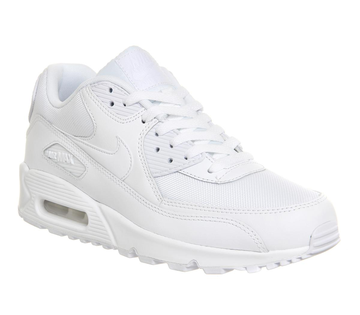 director Largo parilla  nike air max 90 all white mens Cheap Nike Air Max Shoes