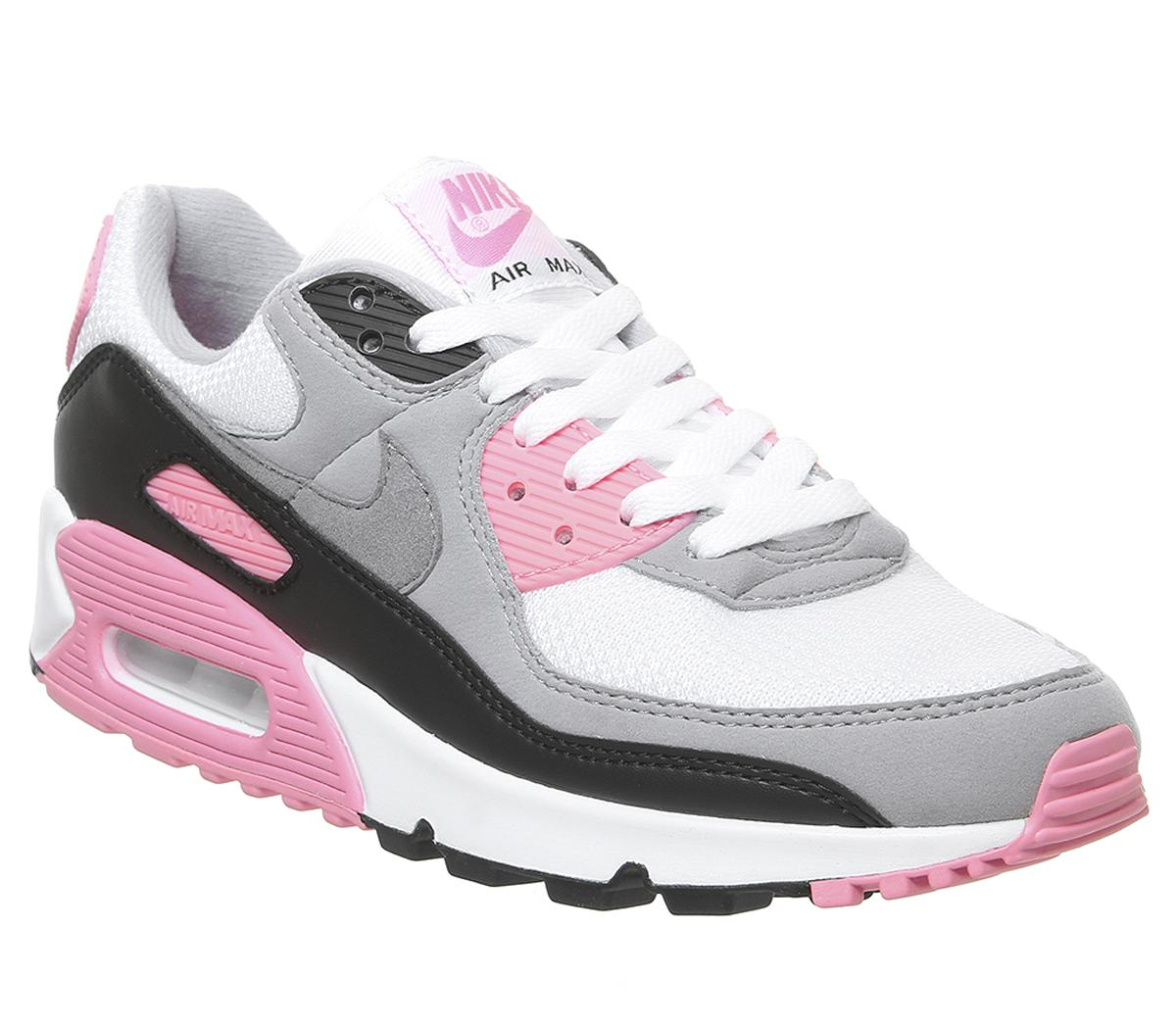 Nike Air Max 90 Grey and Rose Trainers (mit Bildern) | Nike