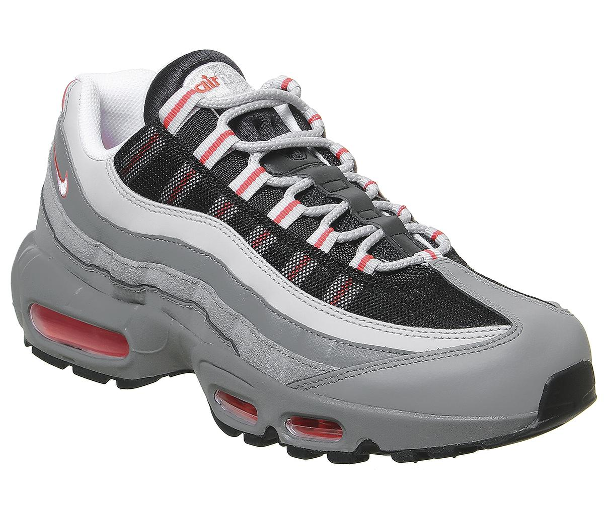 Nike Air Max 95 Track Red White Grey