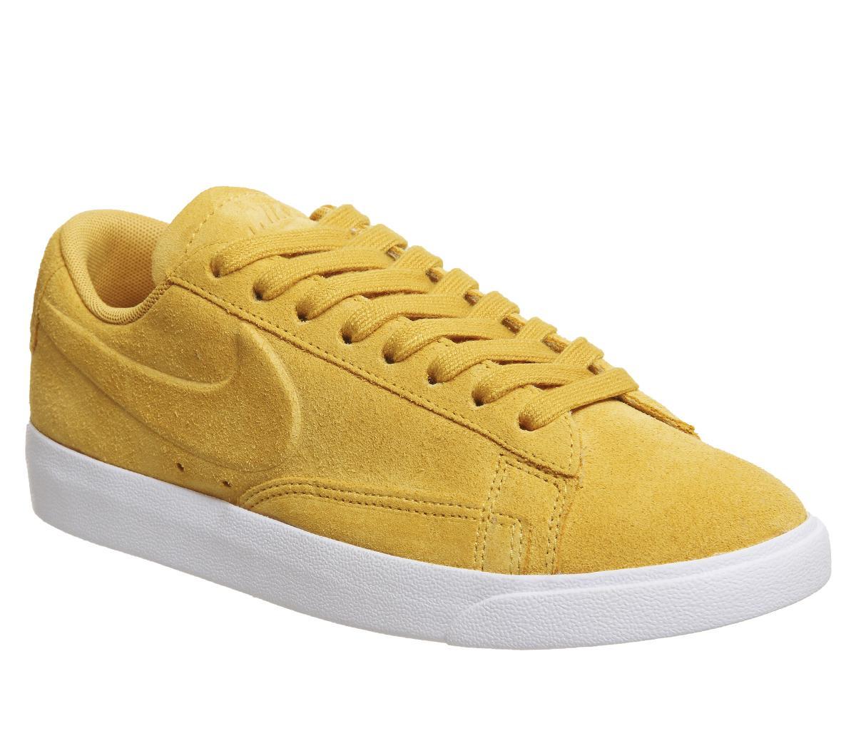 sangre Vadear Ceniza  Nike Blazer Low Trainers Mineral Yellow Mineral Yellow - Hers trainers